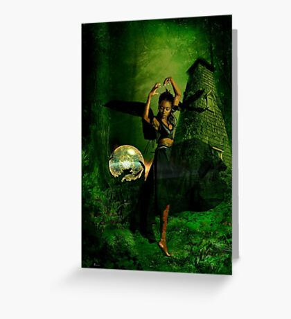 FOREST DANCE Greeting Card