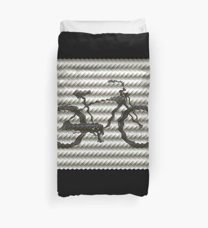 Folded Bike Duvet Cover