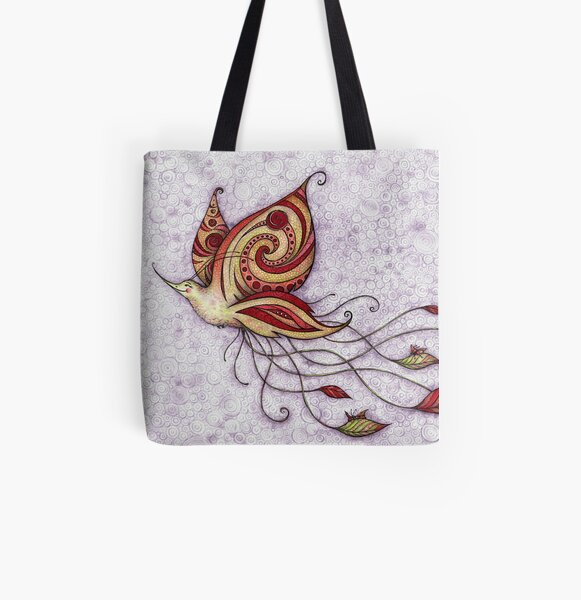 Hummerfly All Over Print Tote Bag