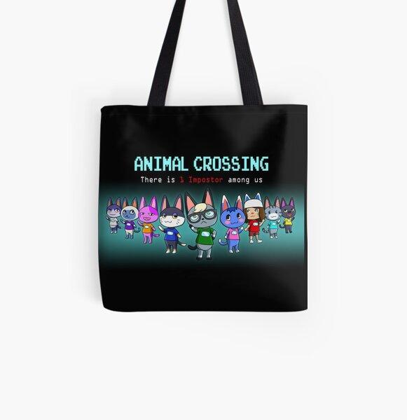 Among Animal Crossing All Over Print Tote Bag