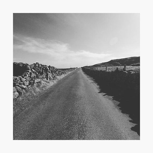 Inishmore road Photographic Print