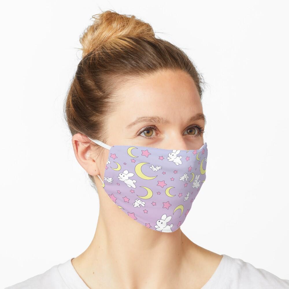 Usagi Pattern Old Style Mask