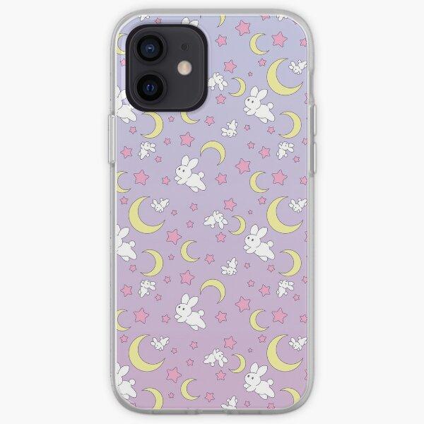 Usagi Pattern Old Style iPhone Soft Case