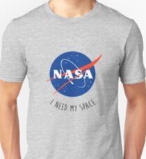 I Need My Space Colour Unisex T-Shirt