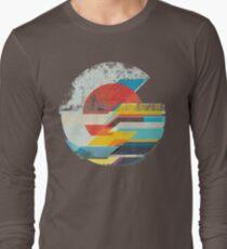 Digital Sun Horizon  T-Shirt