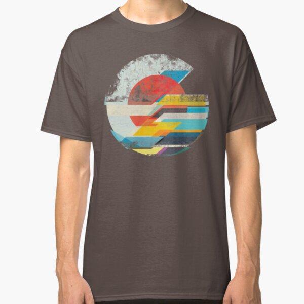 Digital Sun Horizon  Classic T-Shirt