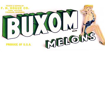 How Buxom are Your Melons? (now in any color!) by boobwhimsy