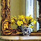 Daffodils on Mantelpiece by Susan Savad