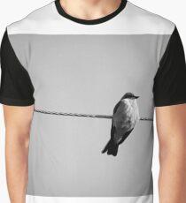Bird on Wire Graphic T-Shirt