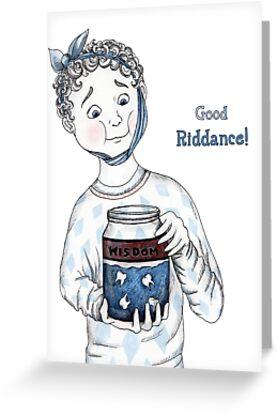 Good Riddance! by Mariya Olshevska