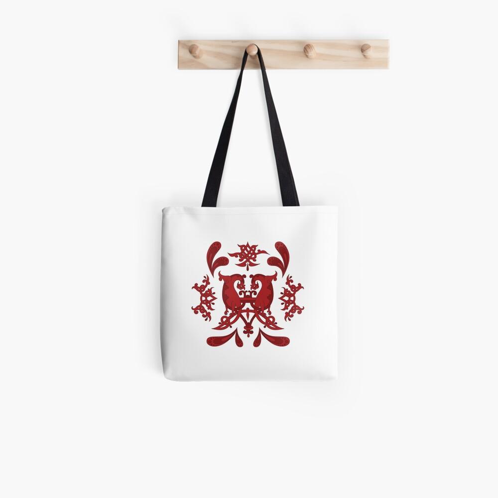Slavic Knotwork Animals Tote Bag
