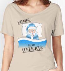 Santa Claus' Got The Sniffles Women's Relaxed Fit T-Shirt