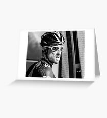 Bernhard Eisel (Team Sky) Greeting Card