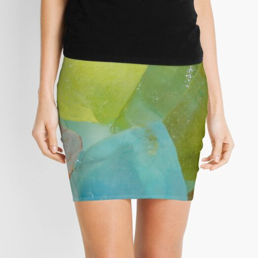 Ice, It Now Comes In Colors... Mini Skirt