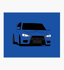 Simple Evo Photographic Print