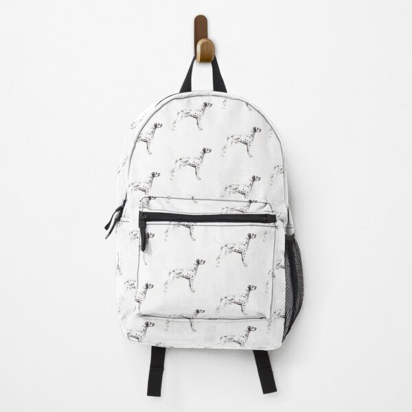 Dalmatian Dog Breed Show Stack Stand Backpack