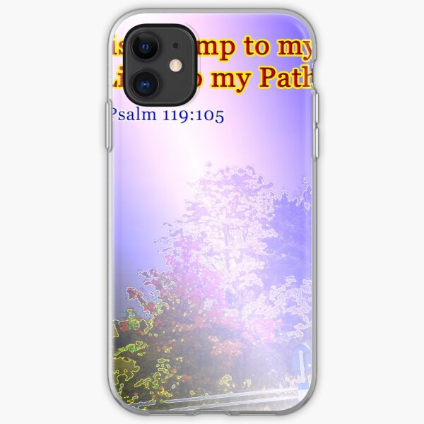 Your word is a lamp to my feet iPhone Soft Case