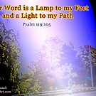 Your word is a lamp to my feet by empowerwithart