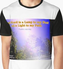 Your word is a lamp to my feet Graphic T-Shirt