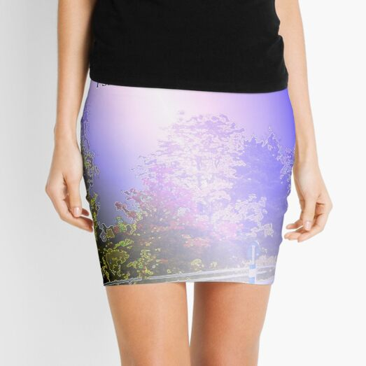 Your word is a lamp to my feet Mini Skirt