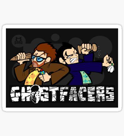 Ghostfacers! Sticker