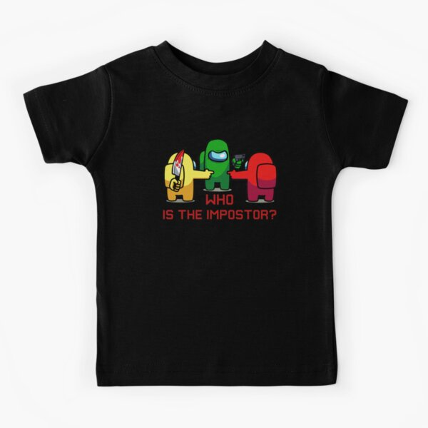 who is the IMPOSTOR? Kids T-Shirt