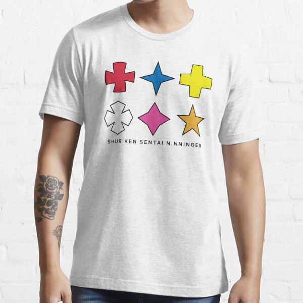 Ninninger Helmet Shurikens Essential T-Shirt