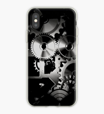 time moves in dark ways... iPhone Case