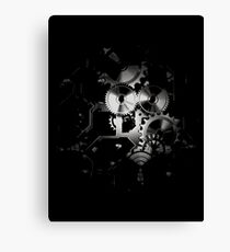 time moves in dark ways... Canvas Print