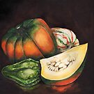 Shelly's Squash by Sherry Cummings