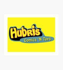 Lámina artística Hubris Comics and Toys