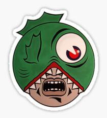 Madballs - Fish Head Sticker