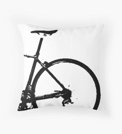 bike crank Throw Pillow