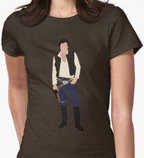 Han Solo 1 Women's Fitted T-Shirt