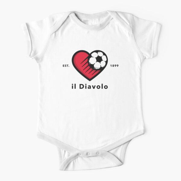 AC Mailand Baby Body Kurzarm