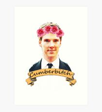 Cumberbitch shirt Art Print
