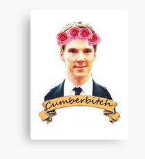 Cumberbitch shirt Canvas Print
