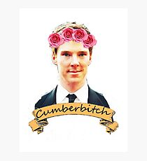Cumberbitch shirt Photographic Print