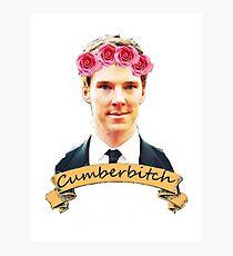 Cumberbitch shirt Photographic Print
