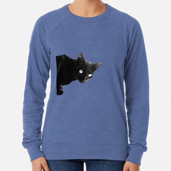 Pearli peaks through the window.  Queen of the night Lightweight Sweatshirt