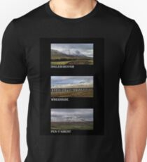 3 Highest Peaks Of The Yorkshire Dales Unisex T-Shirt