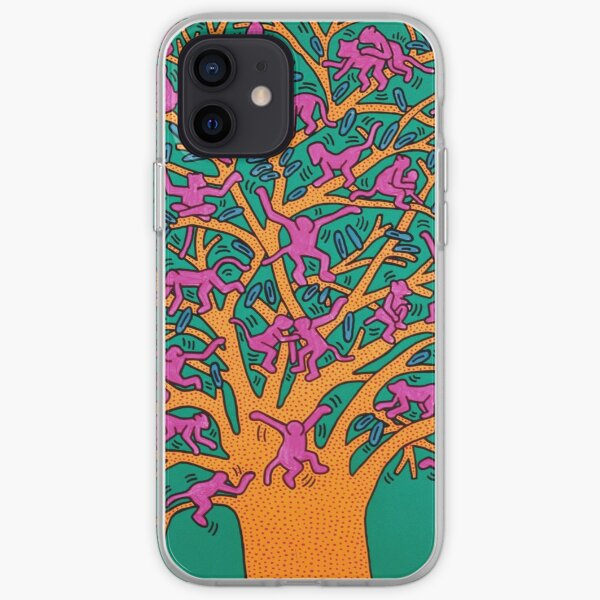 tree of monkey iPhone Soft Case