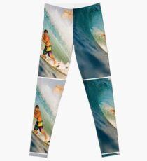 Surfing The Curl Leggings