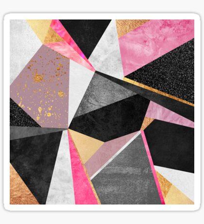 Geometry / Pink Sticker