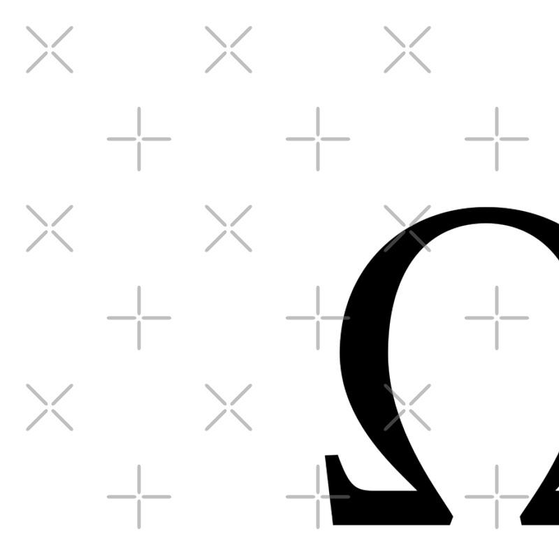 Omega Greek Letter
