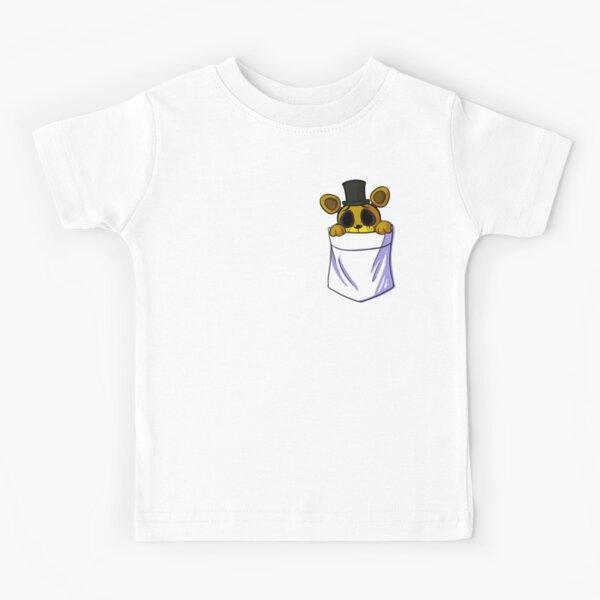 Golden Freddy in my Pocket Kids T-Shirt