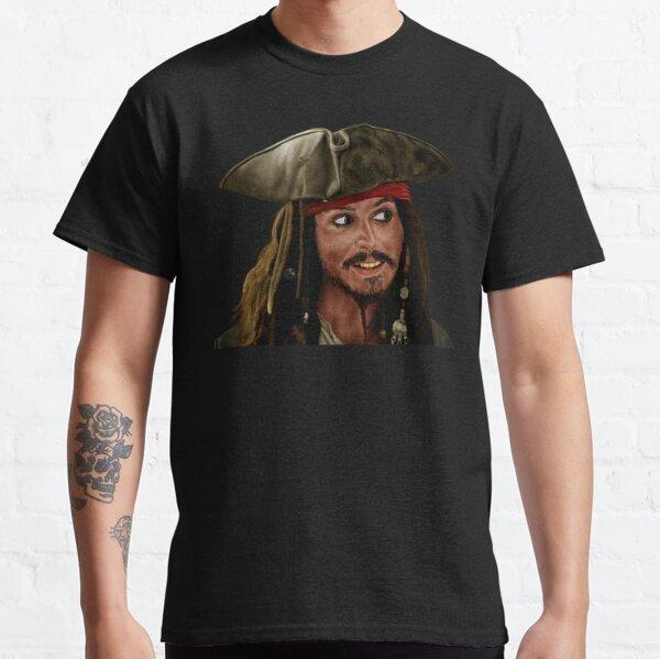 Kapitän Jack Sparrow in Fluch der Karibik. Classic T-Shirt