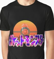 Vaporwave Pokemon Graphic T-Shirt