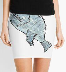 Minifalda Blue Whale
