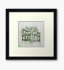 Beware Hitchhiking Ghosts Framed Print